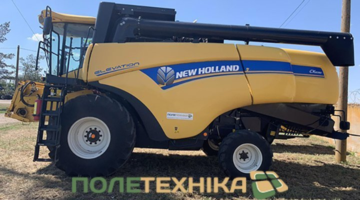 Комбайн NEW HOLLAND СХ6090 / 2017р.в