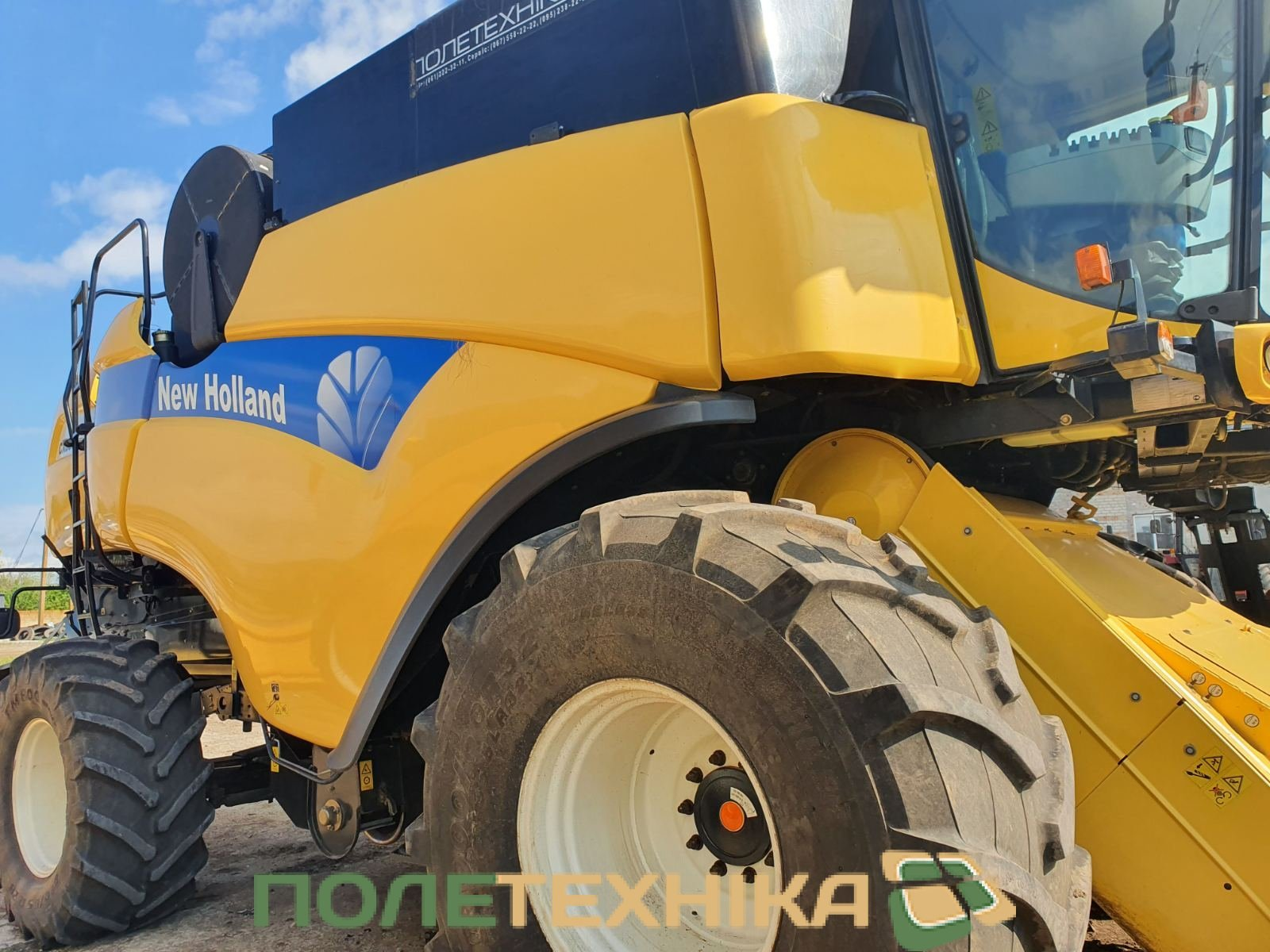 Комбайн NEW HOLLAND CR 9.80 / 2017р. в