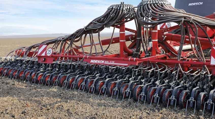 Сівалка зернова Horsch Serto SW - продуктивність 150-180Га / добу