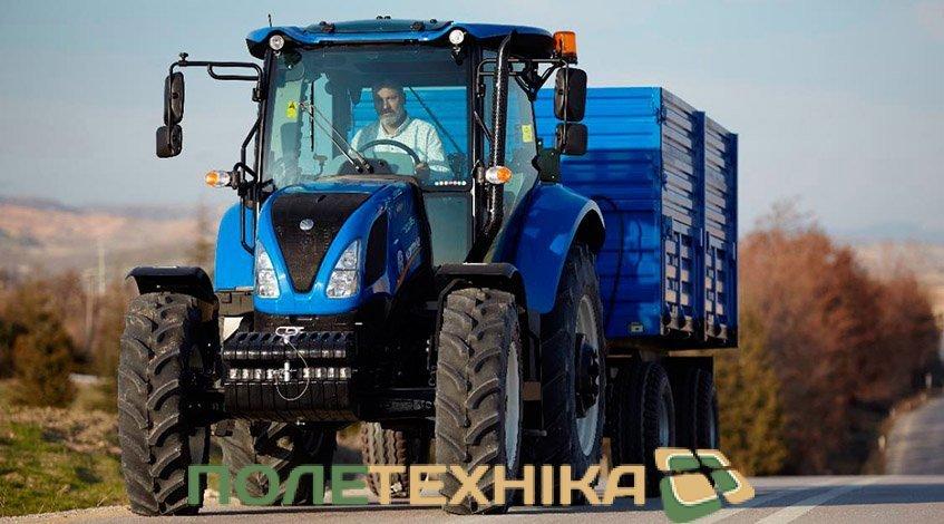 Трактор  New Holland T5.110 S. Технічні характеристики. Відео