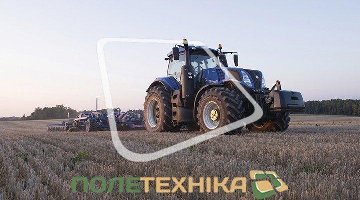 Новый трактор New Holland T8.410 - мощностью до 409л.с