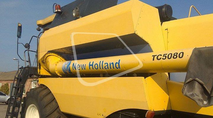 Комбайн NEW HOLLAND TC 5080 / 2008