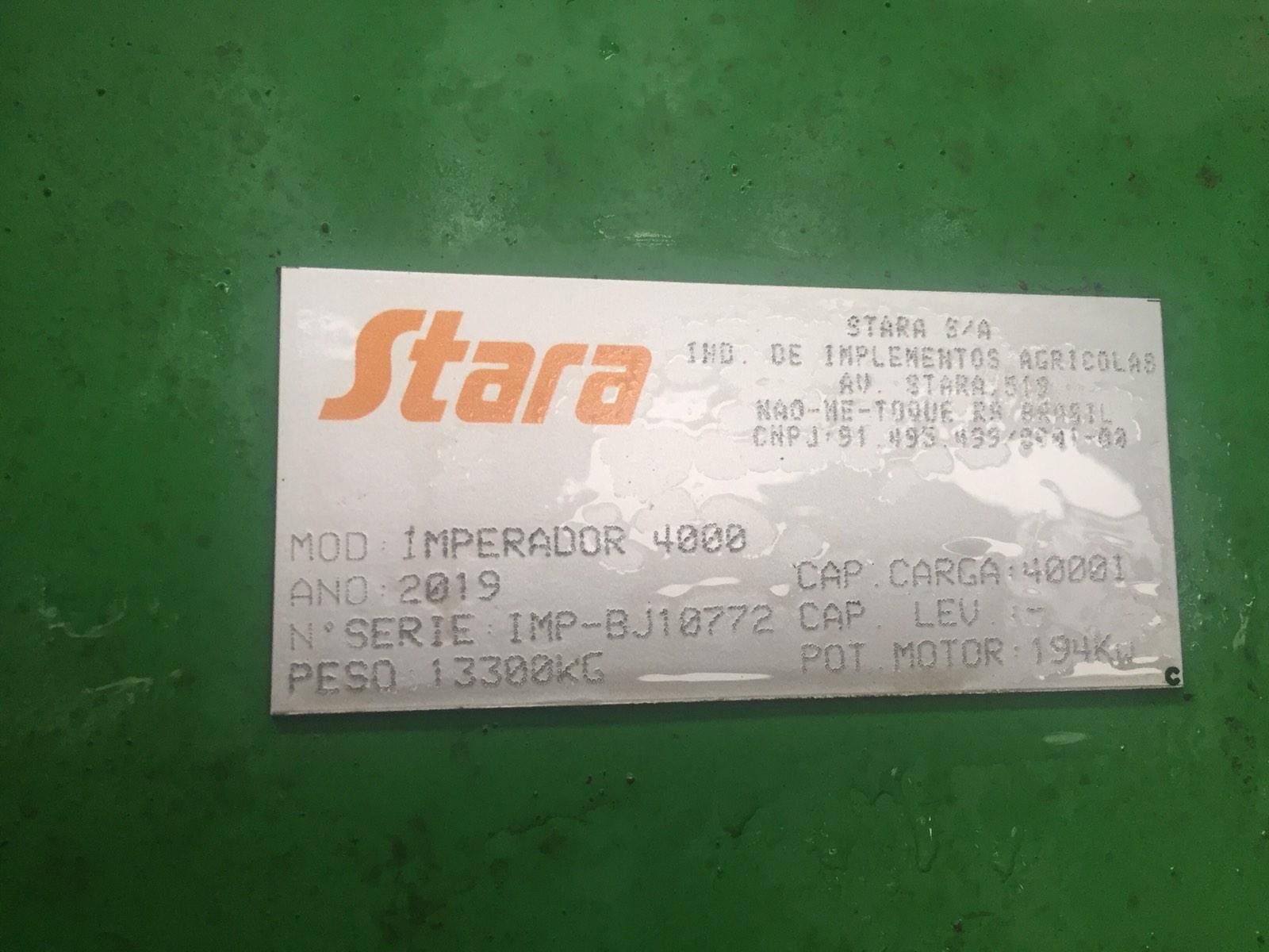 Обприскувач самохідний Stara lmperador 4000