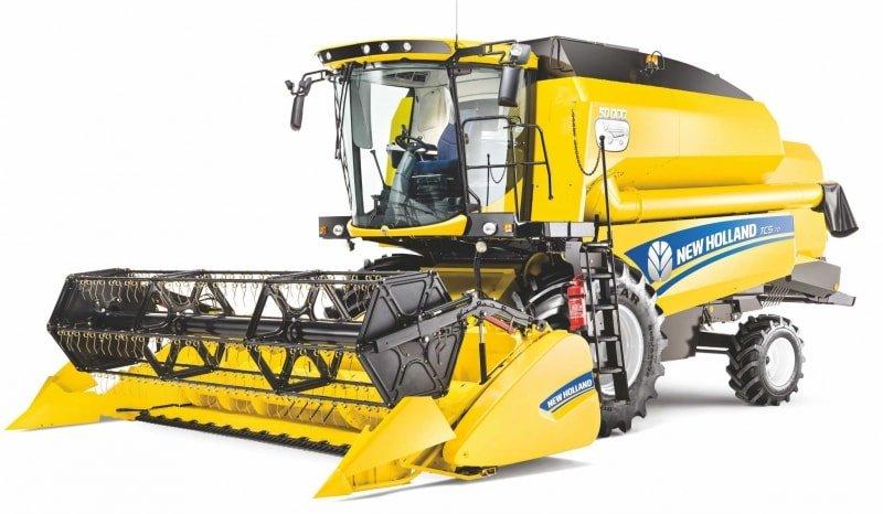 Комбайн New Holland TC5.90 керівництво по експлуатації
