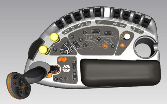 СистемаTwin RotorкомбайнаНью ХолландCR 9.80