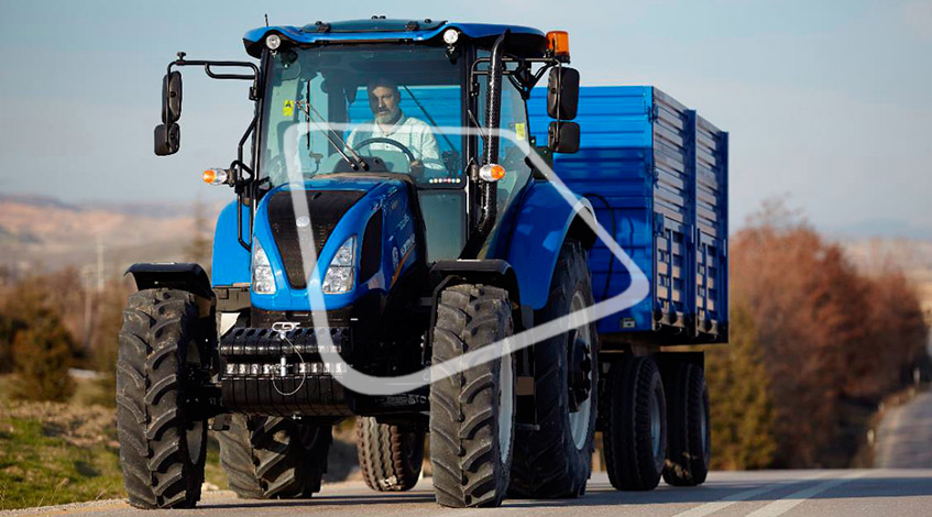 Трактор New Holland T5.110S
