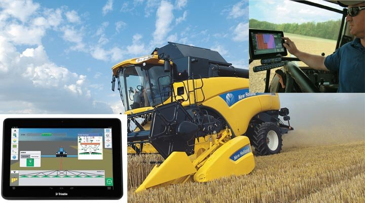 Моніторинг врожайності для NH CX8.80, CR9.80